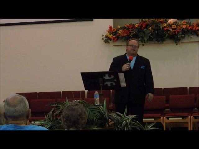 """""""Glory Road"""" by Bob Hadley - Westside Baptist Church, Daytona Beach, FL - 11/4/16"""