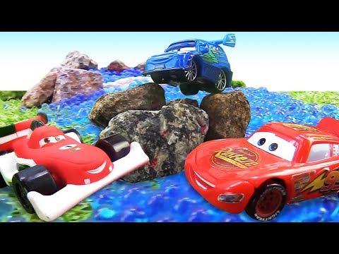 Lightning McQueen & Disney Pixar cars toys: Lightning McQueen full episodes
