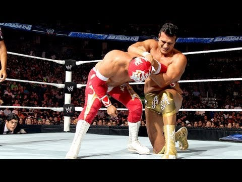 Sin Cara vs. Alberto Del Rio: SmackDown, July 13, 2012