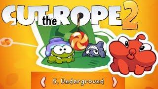 Cut The Rope 2 Walktrough: Underground 1 - 20