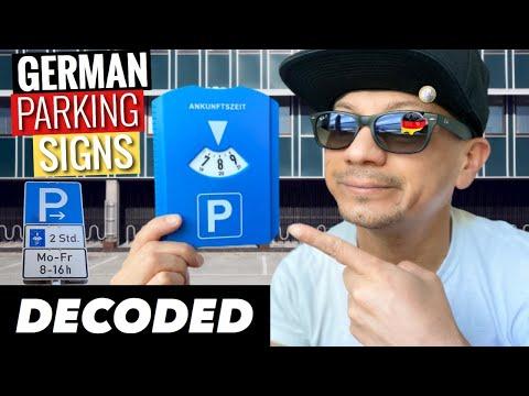 German Parking Signs Solved