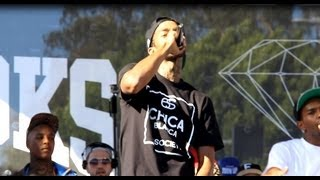 "Nipsey Hussle - ""All Get Right"" Live At 1st Annual ""Welcome To The Block Party"" 