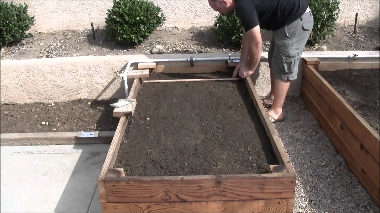 southern california raised bed gardening youtube