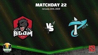 DOTA2 BOOM.ID VS THE PRIME - TBOF IESPL - Match Day 22
