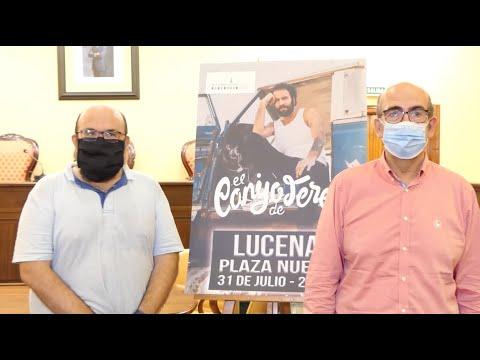 """VÍDEO: El Canijo de Jerez trae este viernes a la Plaza Nueva de Lucena el auténtico """"sonido garrapatero"""""""