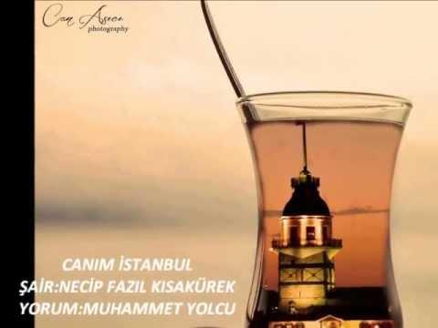 Canım Istanbul şiiri Necip Fazıl Kısakürek Youtube