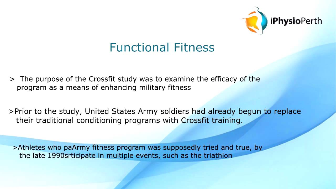 Crossfit in Military Training | Crossfit Performance Study