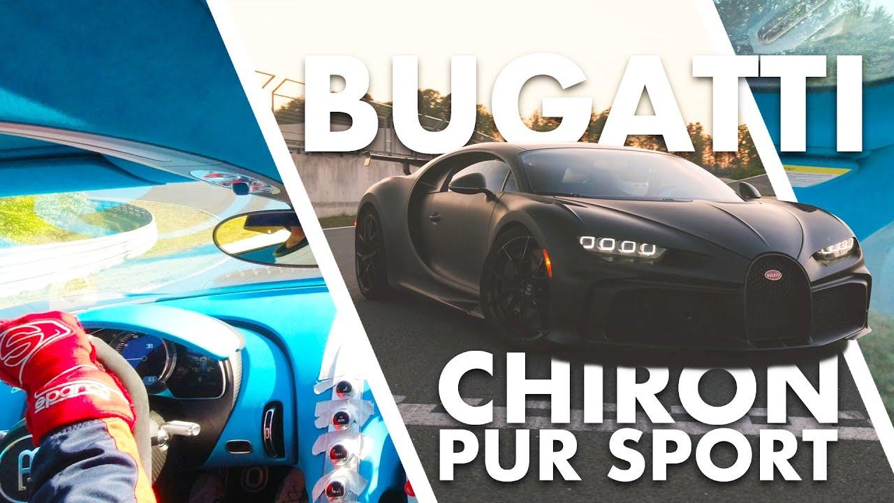 Bugatti Chiron Pur Sport | HOT LAP | Ungeschnitten | Bilster Berg POV | Matthias Malmedie