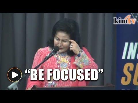 Rosmah: We must aspire to be champions