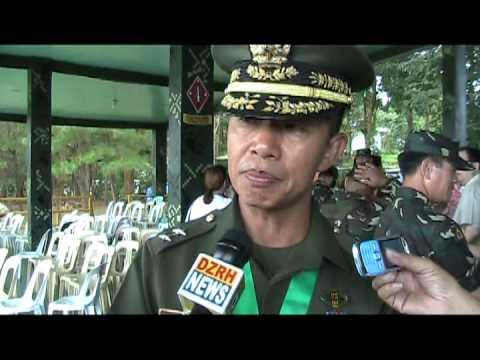 11 23 2012 MGEN NONATO ALFREDO PERALTA BAGONG COMMANDER NG 2ND ID PHIL ARMY