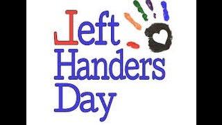 national left hander day | Celebrating national Happy Left Handed Day | Lefties Unite