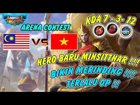 Malaysia Guna Hero Baru Minsitthar !! Bikin Merinding Terlalu OP !! Mobile Legends