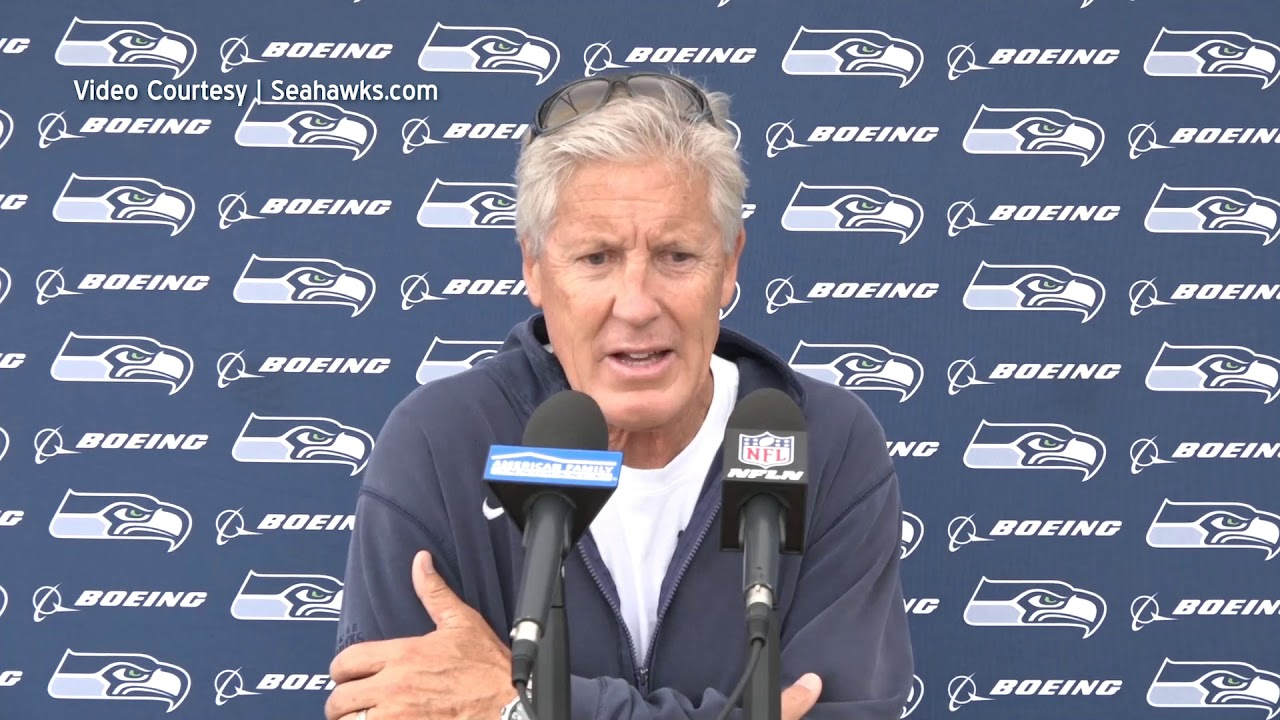 Pete Carroll on 1st Game 2019-08-11