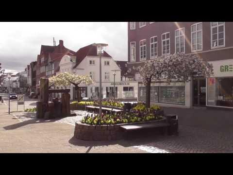 Japanske kirsebær træer i Sønderborg (HD 1080p50)