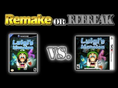 ROR: Luigi's Mansion (GCN Vs. 3DS) (UHD 60fps)