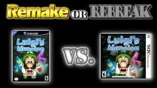 ROR: Luigi's Mansion (GCN Vs. 3DS) (UHD 60fps)