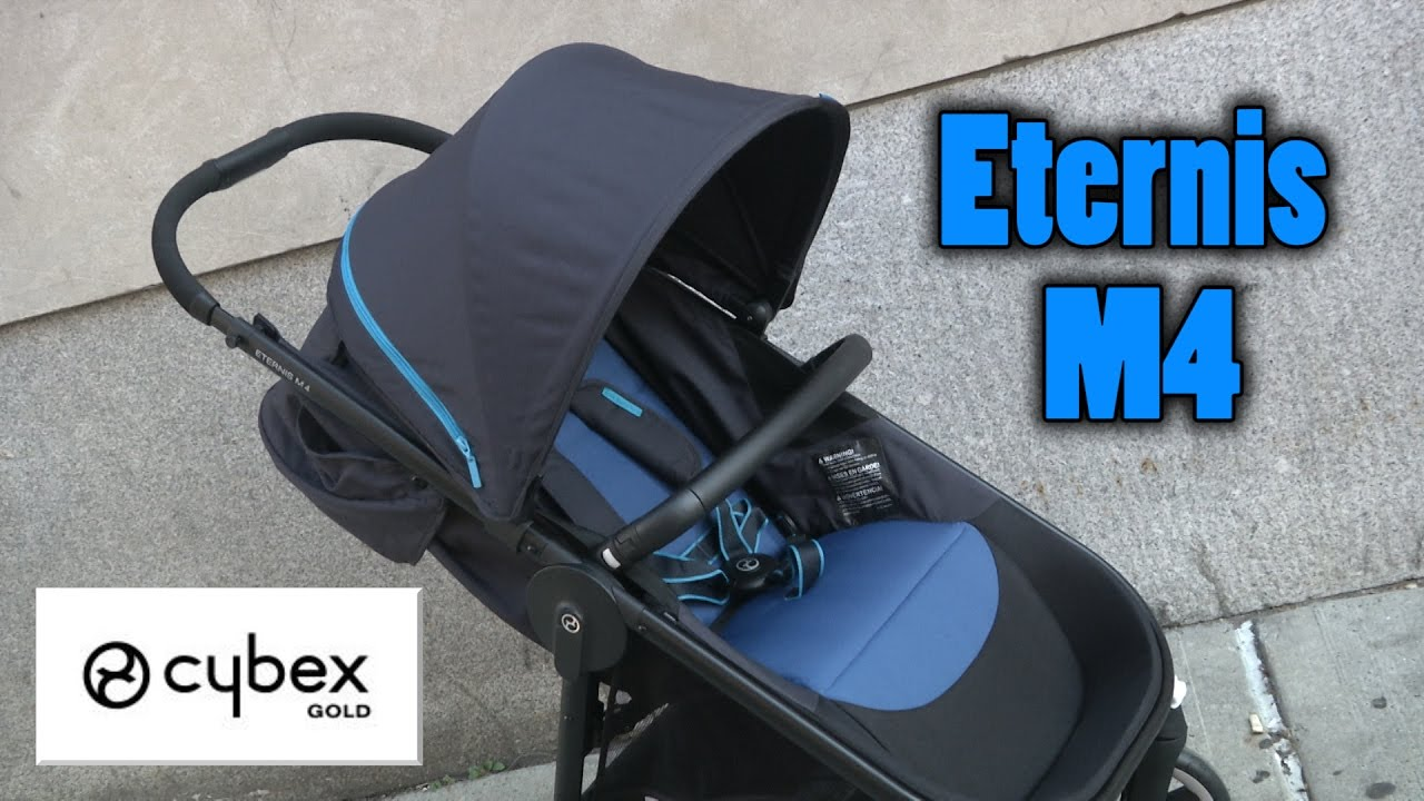 Eternis M4 Stroller from Cybex Gold - YouTube e281085276