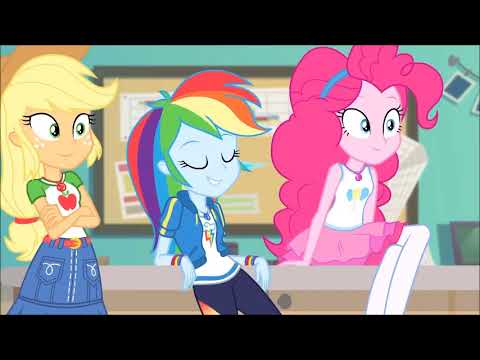 PinkieDash Moments: Equestria Girls (The Better Together Series).