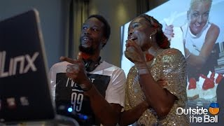 DJ Gael Monfils Takes Over the Decks at Taste of Tennis New York