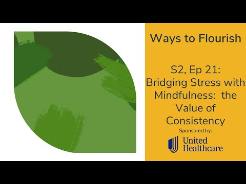 S2, Ep 21 - Bridging Stress with Mindfulness: the Value of Consistency