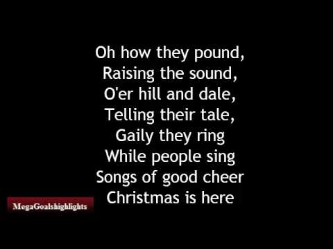 Carol Of The Bells Christmas Song Lyrics Youtube