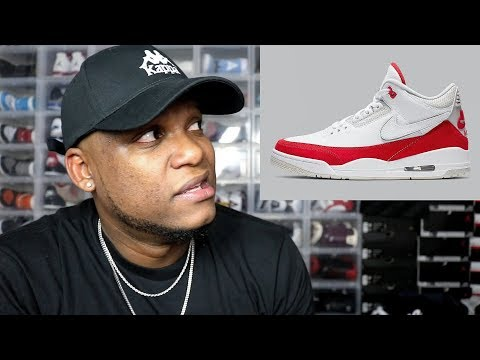 WHY NIKE??? FIRST LOOK AT THE JORDAN 3 TINKER UNIVERSITY RED!!!
