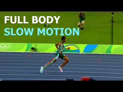 RUNNING FORM: THE FASTEST 400M RUNNER IN THE WORLD