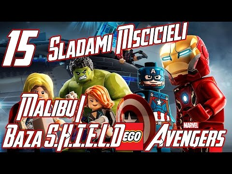 Zagrajmy w: LEGO Marvel's Avengers #15 - Śladami Mścicieli (Malibu/Baza S.H.I.E.L.D)