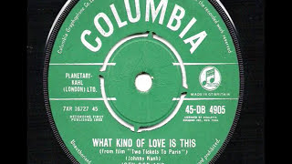 Joey Dee & The Starliters - What Kind Of Love Is This - 1962 45rpm