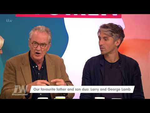 Larry and George Lamb Have Been Cycling the Country Together | Loose Women