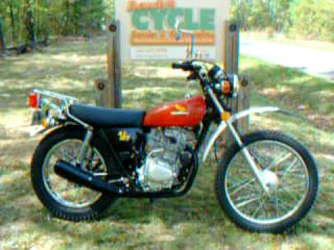 1974 honda xl 125 by randy 39 s cycle service restoration. Black Bedroom Furniture Sets. Home Design Ideas