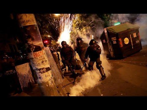 مواجهات بين الأمن ومحتجين في لاباز احتجاجاً على نتائج الانتخابات الرئاسية…  - نشر قبل 3 ساعة