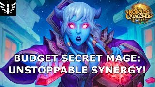Budget Secret Mage: Unstoppable Synergy! - [Hearthstone: Kobolds & Catacombs]