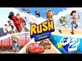 Rush A Disney Pixar Adventure - Gameplay Walkthrough Part 2 - The Incredibles - Cartoon Movie Games