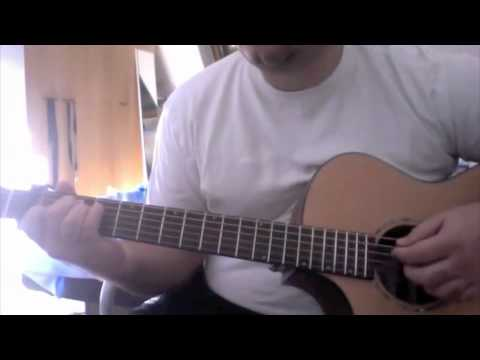 How to play Leona Lewis Run on guitar acoustic cover tutorial