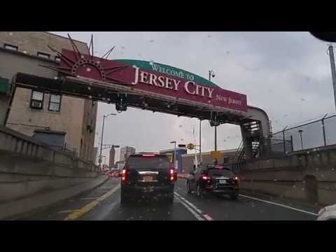 Driving from Chinatown Manhattan,New York to Jersey City,New Jersey