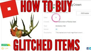 HOW TO BUY GLITCHED ROBLOX LIMITEDS! 100% FREE AND WORKING! 2019!