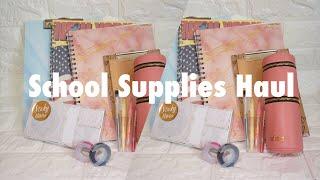 BACK-TO-SCHOOL SUPPLIES HAUL 2019 (PHILIPPINES) | Kisha Pimentel