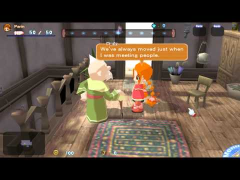 Gurumin A Monstrous Adventure Gameplay Walkthrough PC HD 1080p |