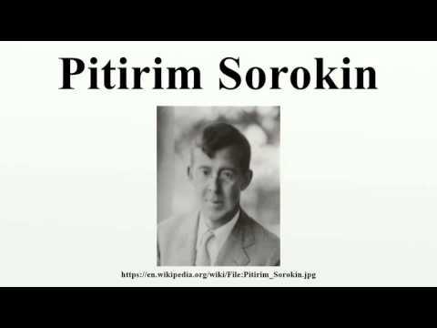 Pitirim Sorokin