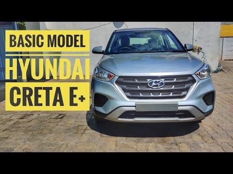 Hyundai Creta Basic Model Creta Review In Tamil Youtube