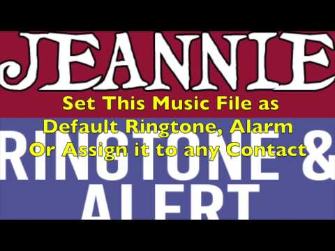 I Dream Of Jeannie Theme Ringtone and Alert