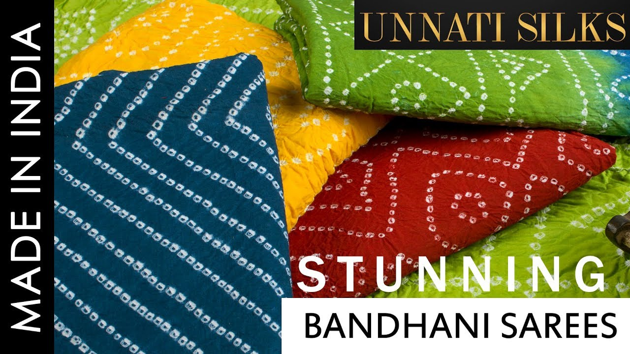 5fecb10f9e Online shopping for Pure Rajasthani Bandhani kota sarees. unnati silks