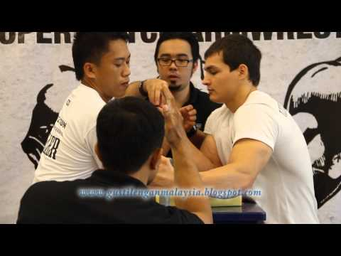 Malaysia International Armwrestling Supermatch 2nd Series (14 December 2013)