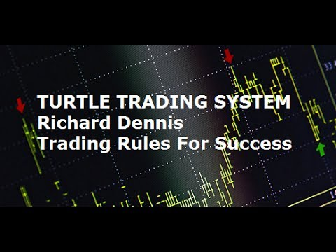 Turtle Trading System  - Richard Dennis Trader Rules for Success