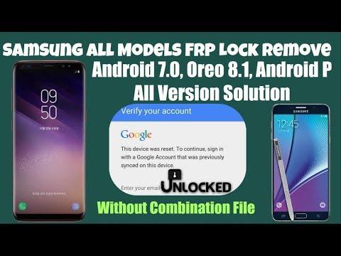 Google Account Bypass Samsung Note 5 N920C Nougat FRP Reset