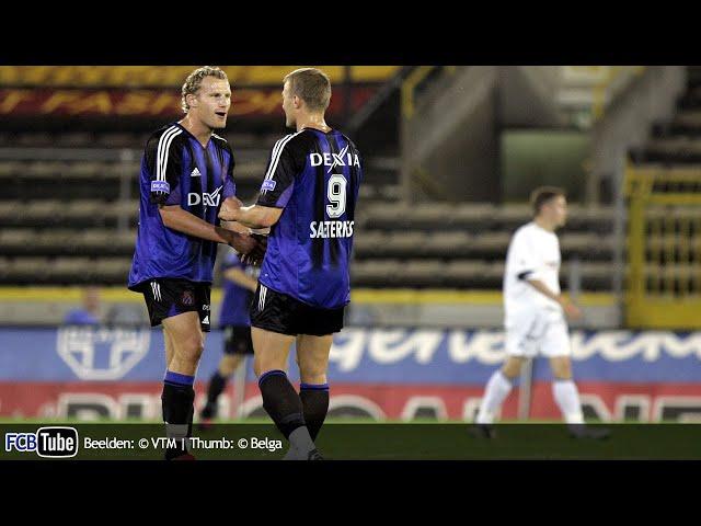 2004-2005 - Jupiler Pro League - 02. Club Brugge - AA Gent 5-0