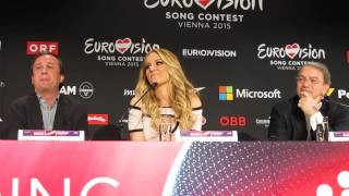 ESCKAZ in Vienna: Edurne (Spain) 3rd press-conference