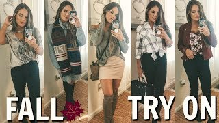 CURRENT FALL CLOTHING FAVORITES / MY MUST HAVES & TRY ON!  | Casey Holmes