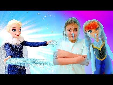 Холодное сердце: Три испытания для Анны. Сказочный патруль спасли Эльзу. Мультики с куклами 2 серия
